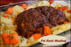 Pot Roast Meatloaf http://www.momspantrykitchen.com/pot-roast-meatloaf ...