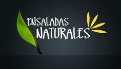 Ensaladas Naturales, desarrollo de imagen corporativa.