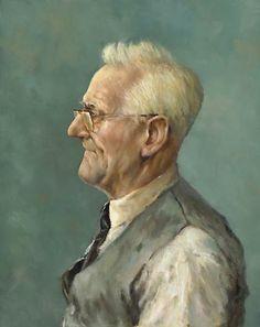 Marius van Dokkum - Grandfather without teeths