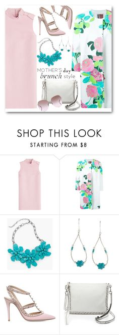 """""""Mother's Day Brunch Style"""" by brendariley-1 ❤ liked on Polyvore featuring RED Valentino, I'm Isola Marras, Chico's, Southwest Moon, Valentino, Rebecca Minkoff, Barton Perreira and MothersDayBrunch"""