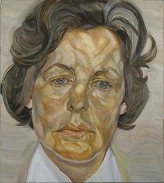 LUCIAN FREUD, WOMAN IN A WHITE SHIRT, 1956–57. COMMISSIONED BY: ANDREW CAVENDISH, 11TH DUKE OF DEVONSHIRE.