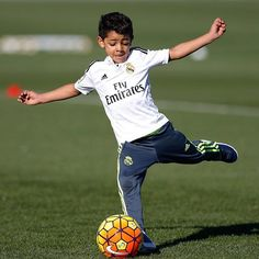 Cristiano Ronaldo says son is good enough to become a footballer but Real Madrid star insists he won't force him to be a player Cristiano Jr, Cristiano Ronaldo Junior, Cristano Ronaldo, Messi, Cr7 Jr, Cr7 Junior, Teenager Mode, Portugal National Team, Real Madrid Players