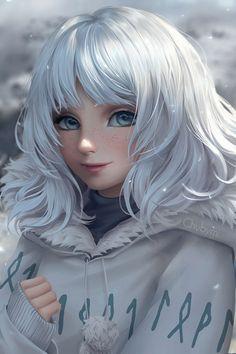ArtStation - Lilly, Character Design Artist:Chuby Mi Illustration,Portrait 10/10 damn cute!