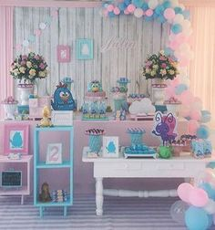 Quer fazer o tema Galinha Pintadinha em uma proposta diferente? Candy Colors!By @atelierfestejar . . . #galinhapintadinha #festademenina #galinhapintadinhacandycolors #galinhalintadinhaentrenafesta #entrenafesta