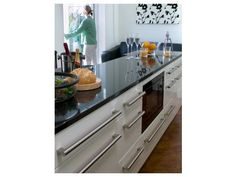 Buy Key Bar Handle online from Lark & Larks: the leading Kitchen & Bedroom Unit & Doors specialist. Kitchen Handles, Kitchen Cabinets, Key, Contemporary, Image, Home Decor, Kitchen Knobs, Decoration Home, Unique Key