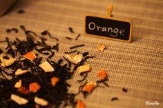 Black Tea  Orange Peel X Lapsang Loose Leaf Tea by DuvalTea