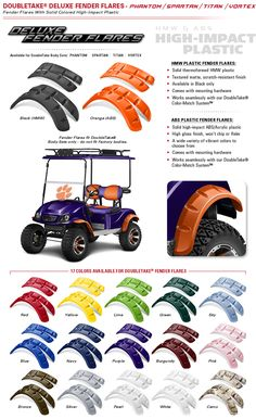 Golf Cart Hubcaps 8 Inch Set Of 4 Golf Cart Battery Meter Get the perfect golf push cart for your golf game Off Road Golf Cart, Golf Push Cart, Custom Golf Cart Bodies, Custom Golf Carts, Yamaha Golf Carts, Golf Cart Batteries, Golf Mk2, Fender Flares, Golf Accessories