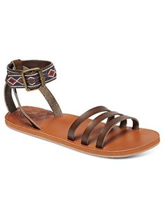 Roxy Womens Lunas Gladiator Sandal Chocolate 10 M US -- Read more reviews of the product by visiting the link on the image.