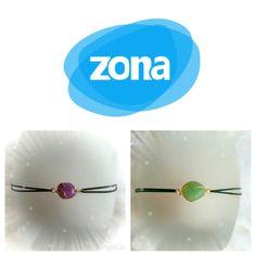 Bracelet contre le ZONA Amethyste ou Aventurine : Bracelet par les-tresors-d-eva
