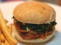 V e g a n D a d: Southern-Style BBQ Tofu Burger (v. quick and easy recipe!)