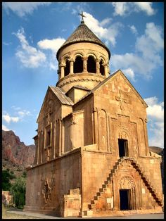 St. Astvatsatsin Church, the centerpiece of the Noravank Monastery in Armenia, is a masterpiece of architecture. Completed in 1339, the church was the last work of the famous Armenian medieval architect and sculptor, Momik. Standing amidst precipitous cliffs in the Voyots Dzor province of southern Armenia, the Monastery was built in place of an ancient cloister and grew in the reign of Orbelian Princes of Syunik, becoming a major Armenian religious and cultural centre in the 13th-14th…