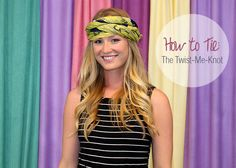 In Honor of Breast Cancer Awareness: 20 Ways to Tie a Head Scarf