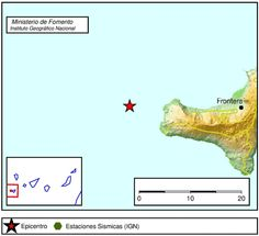 Terremoto 3, grados El Hierro, 20 mayo