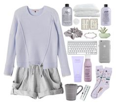 """""""Light purple and grey - Lazy day"""" by berina-2000 ❤ liked on Polyvore featuring adidas, Rebecca Taylor, philosophy, Crate and Barrel, River Island, Case-Mate, Chen Chen & Kai Williams, Lanvin, Foot Traffic and Living Proof"""