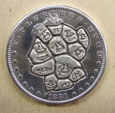 Robert Shamey Coins, Carving, Money, Personalized Items, Rooms, Silver, Wood Carvings, Sculptures, Printmaking