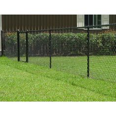 Chain link fencing by Mike's Fencing in Nappanee. For the