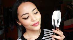 Prueba de producto, aro de luz para celular ||| Lilia Cortés Gadgets, Makeup, Dreams, Digital, Youtube, Instagram, Make Up, Printable Stickers, Beauty Makeup