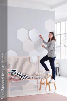 Mit Frischen Farben Und Tapeten Ideen Holen Wir Den Frühling Ins Haus. Neue  Materialien