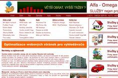 Aktuálně ověřené informace, kontakty a hodnocení Alfa - Omega servis, Plzeň, Jižní Předměstí Provádím SEO optimalizace webových stránek pro vyhledávače. Tvorba webových stránek a zhotovení webových prezentací a fotografií pro prezentace. Zviditelnění firem, služeb, výrobků a produktů na internetu. Pronájem výrobních prostorů. Webové portály.