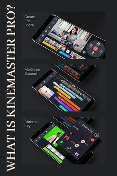 What is KineMaster Pro – Kinemaster is a professional video editing app for Android/IOS devices that allows you to easily customize, edit, and add text and images to your videos. You can voice… More Learn Computer Coding, Video Editing Apps, Chroma Key, Content Marketing, Affiliate Marketing, App Development Companies, You Videos, Make Money Online, Ios