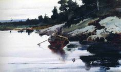 Andrew Wyeth: Turkey Cove Ledge