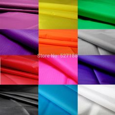 Beautiful nylon fabric more than 10 colors .ultralight and ripstop which is suit for outdoor