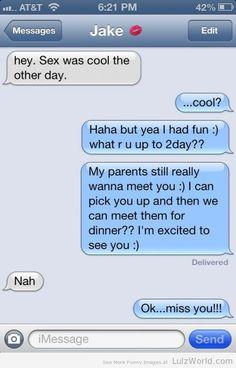 Meeting The Parents. Nah.