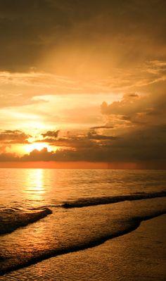 Lido Beach sunset - Sarasota, Fl