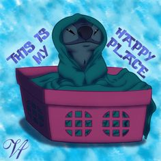 Stitch's Happy Place by ViridianVenus on DeviantArt