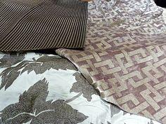 Grey and Taupe Color Combinations - DEDAR Fabrics