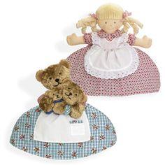 Topsy turvy doll with Goldilocks reversing to the Three Bears!