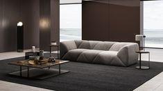 Montaigne - Canapé 4 places gris | BALMAISON Sofa, Couch, Decoration, Living Room Designs, Places, Table, Furniture, Home Decor, Nature