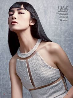 """stormtrooperfashion:  Fei Fei Sun in """"Asset Management"""" by Craig McDean forVogue US,April 2013"""