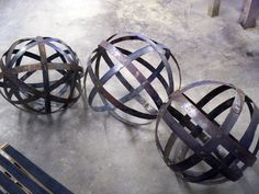 whiskey barrel ring art - Google Search