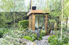A garden studio by Harry and David Rich