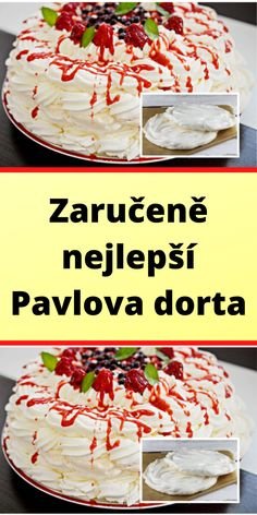 Pavlova, Recipies, Cheesecake, Food, Kuchen, Recipes, Cheesecakes, Essen, Meals