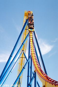 Six Flagsnitro My Favorite Ride In The Park Its A B Hypercoaster Standing 230 Ft Tall And Traveling 80 Mph It Is Ranked For Best Steel Roller Coaster