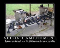 To keep America free always fight for your second amendment rights!