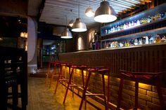 Attic Bar Loft / Interior Design on Behance
