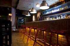 Attic Bar Loft / Interior Design on Behance