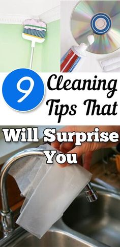 9 amazing cleaning tips that will shock you!Cleaning, cleaning tips, home cleaning, cleaning hacks, bathroom, home décor, organization, home organization, DIY, cleaning, do it yourself.