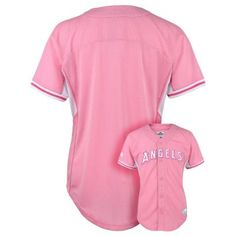 Girls 4-6x Majestic Los Angeles Angels of Anaheim Batting Practice MLB Jersey $12.00