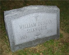 Dr William Duncan Silkworth Headstone Dr Williams, Recovery, History, Decor, Decorating, Historia, Decoration, Dekorasyon, Survival Tips