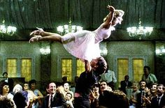 Dirty Dancing!  I can't tell you how many times I have wanted to do this.  But in my skinnier days...lol!