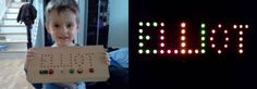 Toddler LED Name Switch Toy Instructables