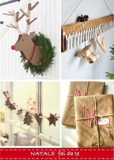 dettagli home decor: Idee per un Natale fai-da-te
