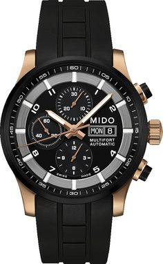 Mido MULTIFORT VALJOUX  M0056143705709 Herrenchronograph
