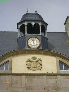 Château de Flamanville. Normandie