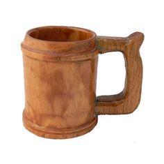 Lathe Turned Wood Coffee Mug Box Elder by KentuckyRootsWood