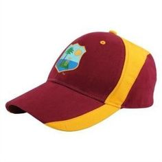 West Indies Cricket Cap Maroon ODI MED 1b2348362a26